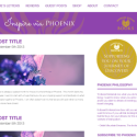 Website design – Phoenix Rising