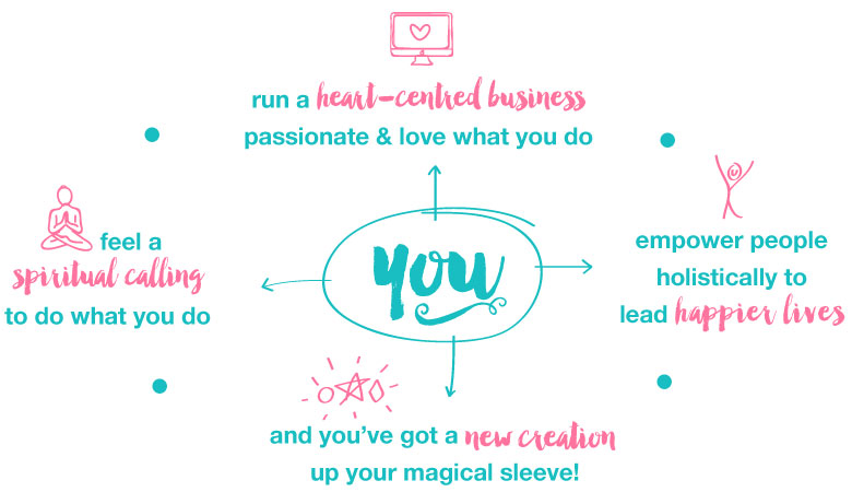 you run a heart centred business...