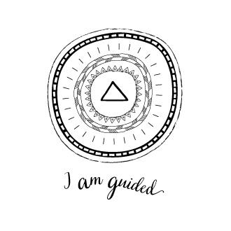 Illustration – I am guided mandala