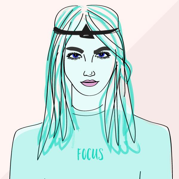 Female Focus Illustration