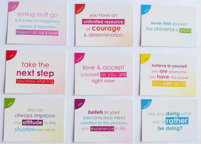 Affirmations & Happi Cards