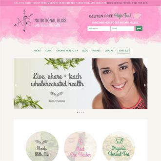 Website – nutritionalbliss.com.au