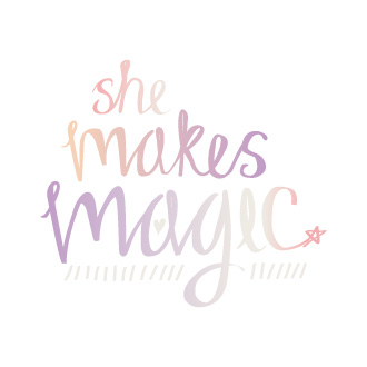 Logo – She Makes Magic